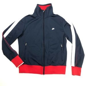 Nike Full Zip Retro XL Youth OR fit Womens Jacket